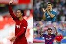 Virgil van Dijk, Cristiano Ronaldo ir Lionelis Messi (nuotr. SCANPIX) tv3.lt fotomontažas