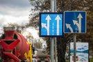 Kintami kelio ženklai Vilniuje (nuotr. organizatorių)
