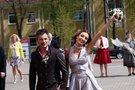 """Gerda ir Andrius Žemaičiai antrąjį """"taip"""" taria Marijampolėje (nuotr. Tv3.lt/Ruslano Kondratjevo)"""