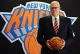 """Išsiskyrė """"Knicks"""" ir Philo Jacksono keliai"""