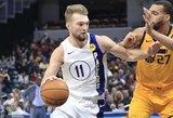 Sabonis NBA pasiekė pirmą trigubą dublį Lietuvos istorijoje!