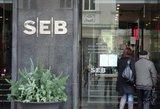 SEB bankui Latvijoje skirta beveik 2 mln. eurų bauda