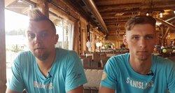 Tokio interviu dar nėra buvę: pokalbio metu Stanislavas ir Irmantas vos nesusimušė