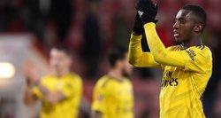 """""""Arsenal"""" prasibrovė į kitą FA taurės etapą"""