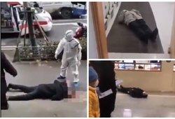 Apokalipsės vaizdai iš Kinijos: žmonės be sąmonės tiesiog krinta gatvėse