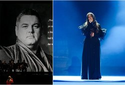 Jautrus Cololo dukros Evitos poelgis: apdovanojimų metu skyrė dainą tėčiui
