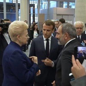 Artima pažintis su prezidente – Grybauskaitės pamokos: turėti nuomonę ir garsiai rėkti
