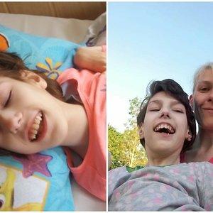 15-metė Lauryna sveria vos 17 kilogramų: paauglės gyvenimas bėga lovoje