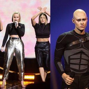 """Pabandom iš naujo: paaiškėjo, kam baigėsi kova dėl """"Eurovizijos"""" atrankos pusfinalio"""