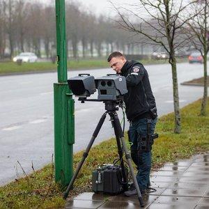 Kaune nauji greičio matuokliai yra tik savaitę – pažeidėjų jau beveik 1000