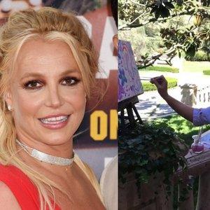 Spears ruošiasi atidaryti meno parodą: gerbėjai įžvelgia, kad taip ji bando gydytis
