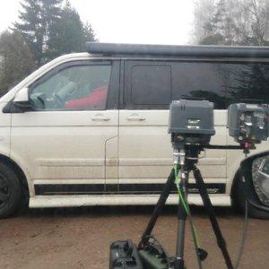 Pareigūnai įspėja vairuotojus: šie matuokliai pažeidimus fiksuoja net užstatyti