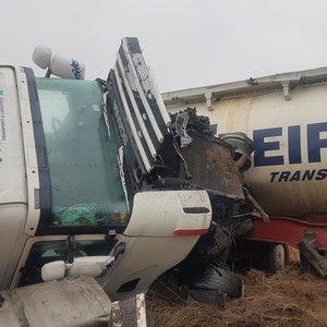 Suknežinto vilkiko nesužeistas likęs vairuotojas pasakė, kas įvyko