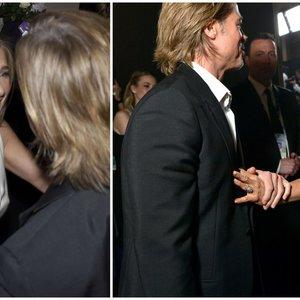 Naujausi Aniston ir Pitto kadrai traukia dėmesį: šaltinis pasakė, kas tarp jų yra iš tiesų