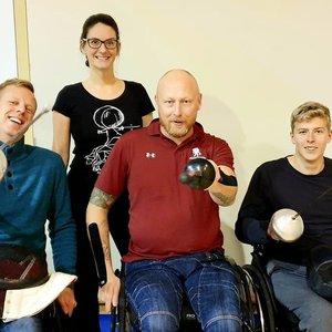 Fechtuoti sėdint neįgaliojo vežimėlyje? Kodėl gi ne