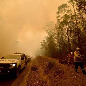 Australijoje suvaldytas didžiausias šalį siaubęs gaisras