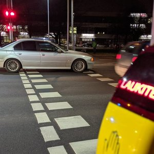 Vilniuje perėjoje BMW partrenkė vyriškį