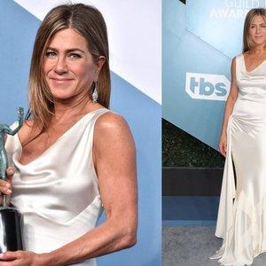 Aniston į apdovanojimus vyko neįtikėtinu būdų: paviešino, ką reikėjo padaryti siekiant tobulai atrodyti