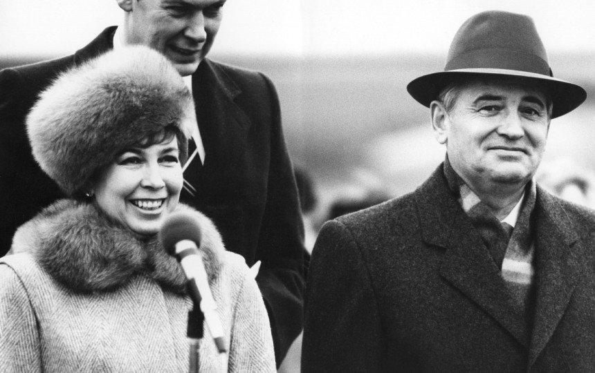 Gorbačiovų pora