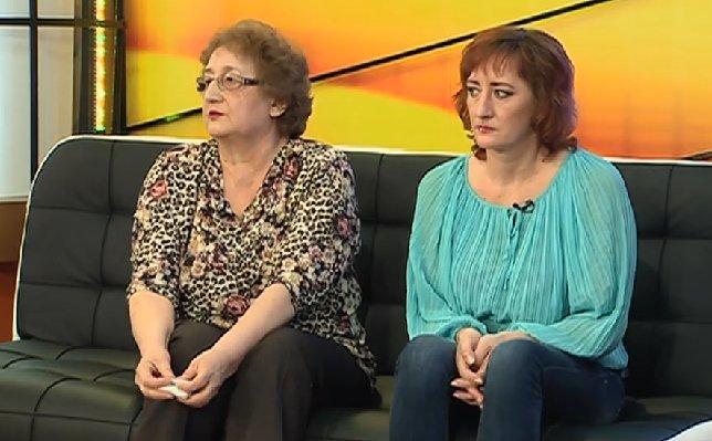 Žaneta su mama Lilija (nuotr. TV3)