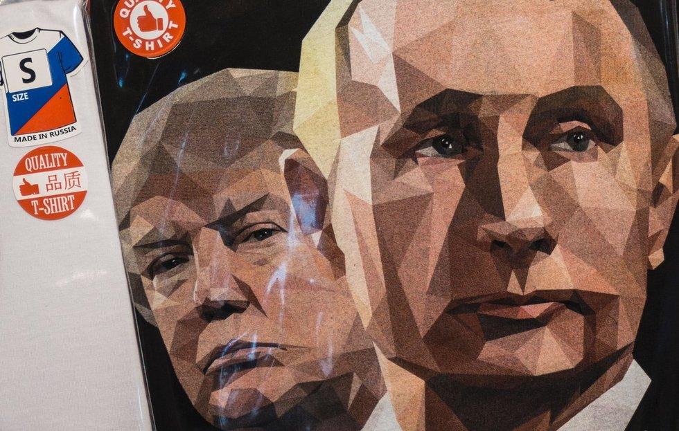 Kodėl JAV ekstremistai taip garbina Rusiją ir Vladimirą Putiną