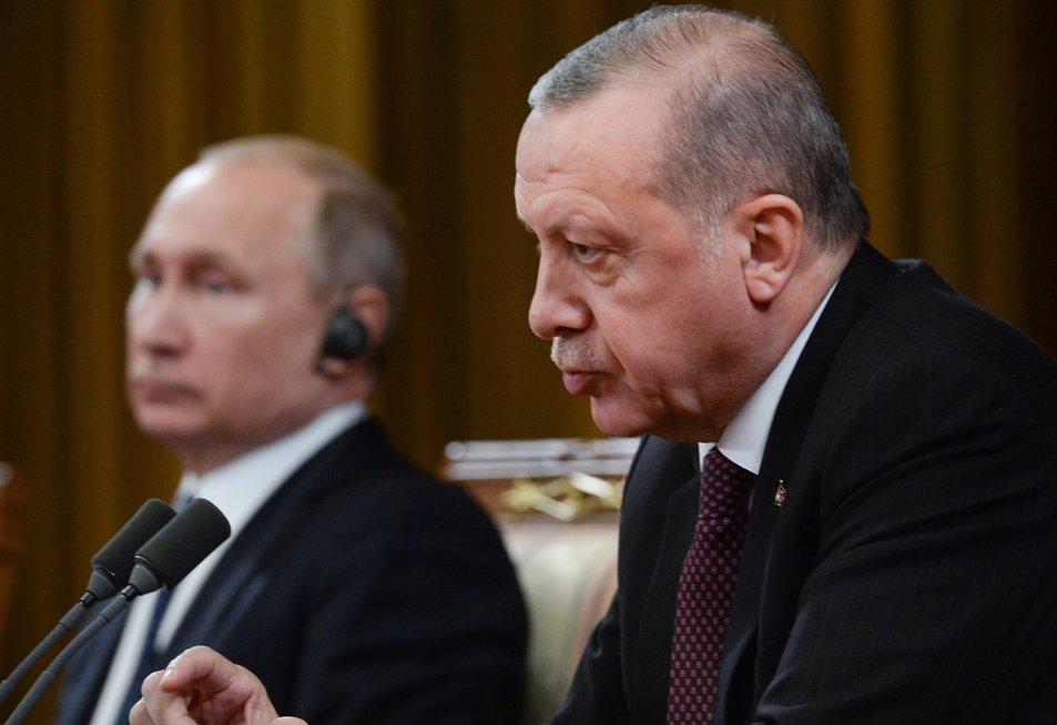 V. Putinas ir R. Erdoganas