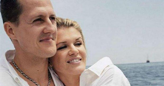 Michaelis Schumacheris ir žmona Corina (nuotr. asm. archyvo)