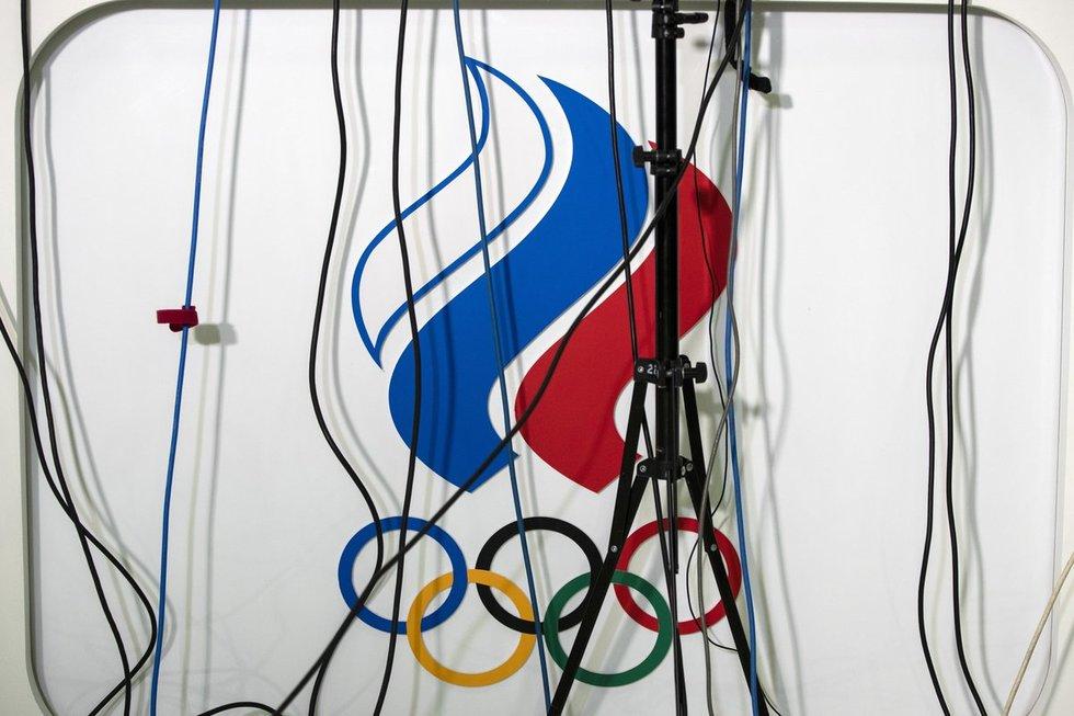 Dopinge paskendusi Rusija tūžta ir žada rengti savo olimpines