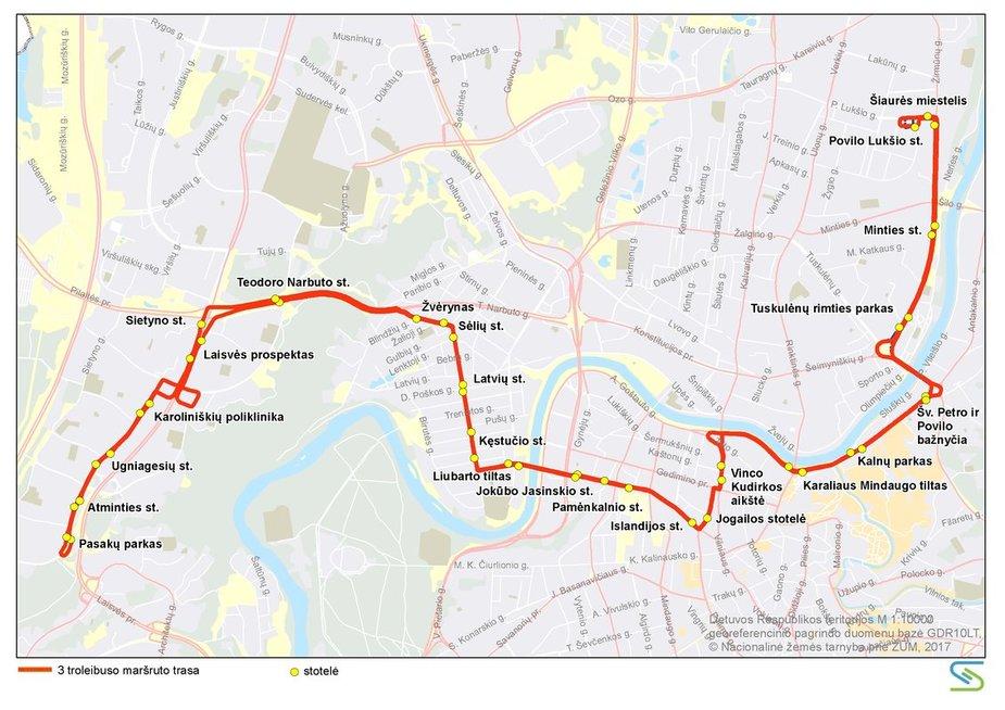 """Vilniuje keisis viešojo transporto maršrutai (nuotr. """"Susisiekimo paslaugos"""")"""