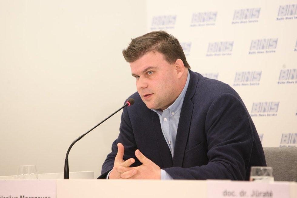 Šeimos gydytojas Valerijus Morozovas