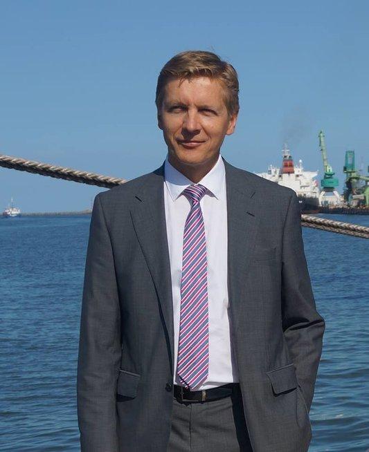 VĮ Klaipėdos valstybinio jūrų uosto direkcija direktorius Arvydas Vaitkus (nuotr. facebook.com)