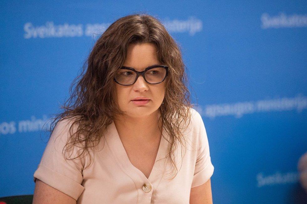 Ministro patarėja Lina Bušinskaitė – Šriubėnė (nuotr. Justinio Auškelio/Fotodiena.lt)