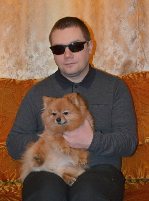 """Panevėžietis Vidas Mekionis dirba """"Regovitus"""" radijuje. Asmeninio archyvo nuotr."""