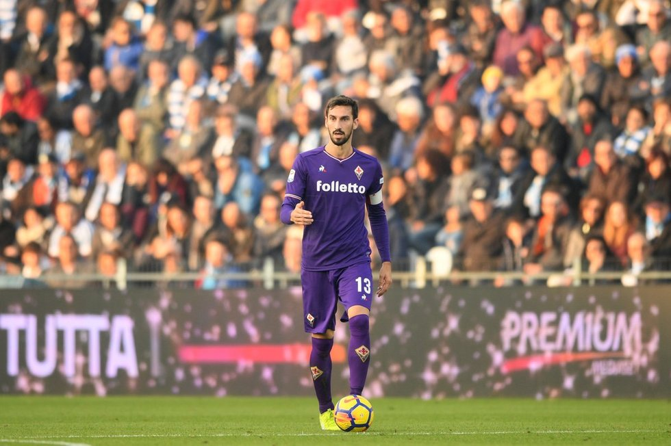Davide Astori (nuotr. SCANPIX)
