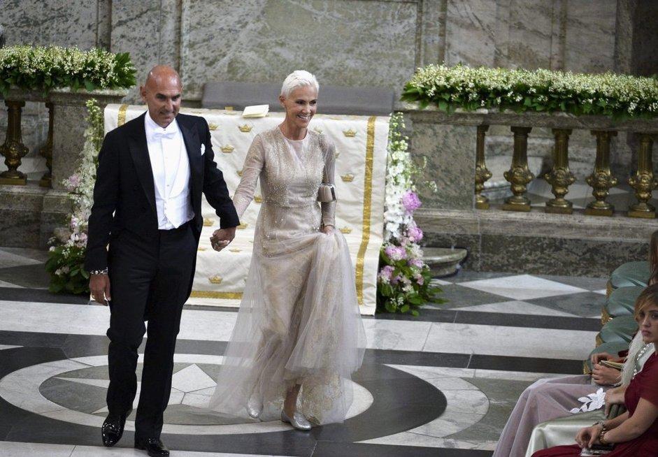 Marie Fredriksson su vyru