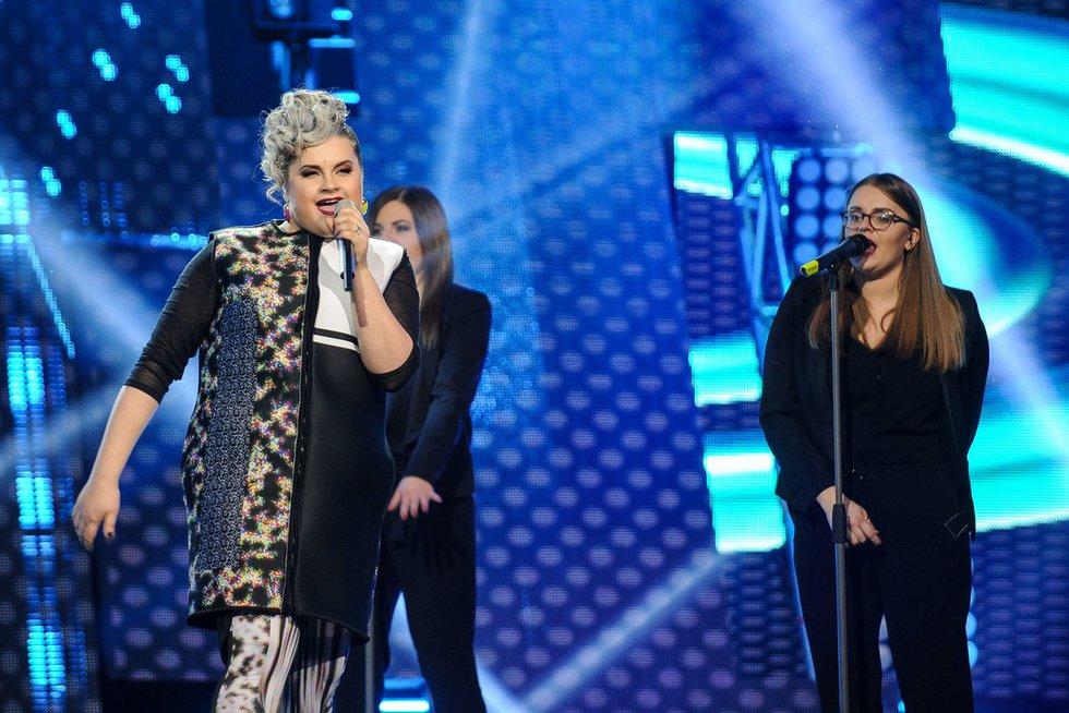 """Nacionalinės """"Eurovizijos"""" atrankos akimirka (nuotr. Fotodiena.lt)"""