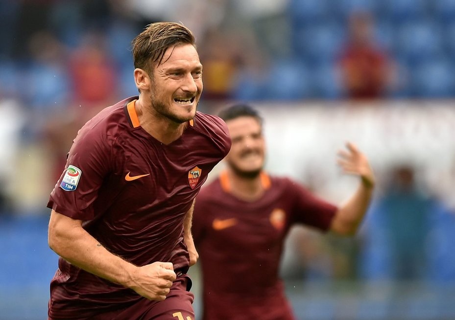 Francesco Totti (nuotr. SCANPIX)