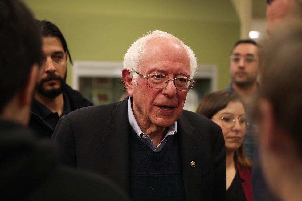 Bernie'is Sandersas
