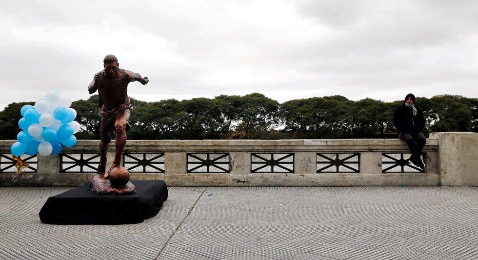 Lionelio Messi statula (nuotr. SCANPIX)
