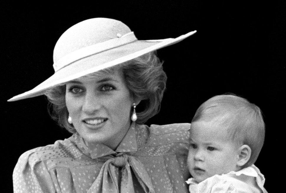 Princesė Diana ir princas Harry