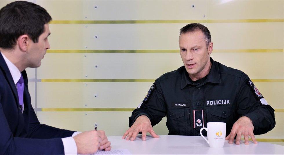 Generalinis komisaras Linas Pernavas