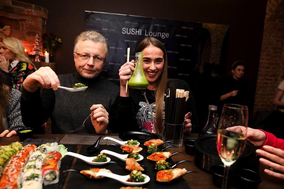 """""""Sushi Lounge"""" gimtadienis (D. Vinkevičiaus nuotr.)"""