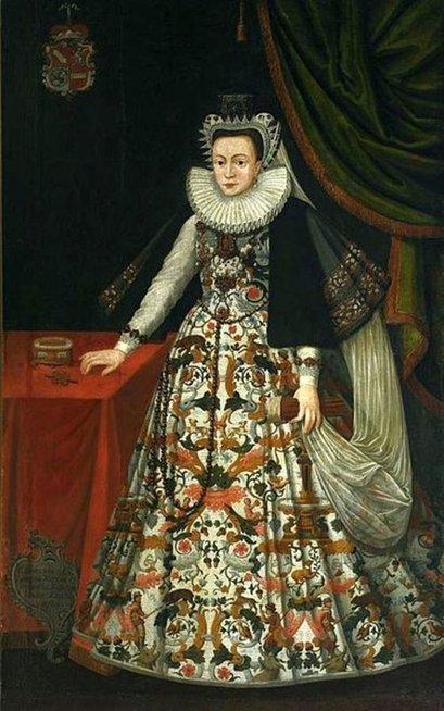 Kristupo Radvilos Perkūno žmona Kotryna Ostragiškė