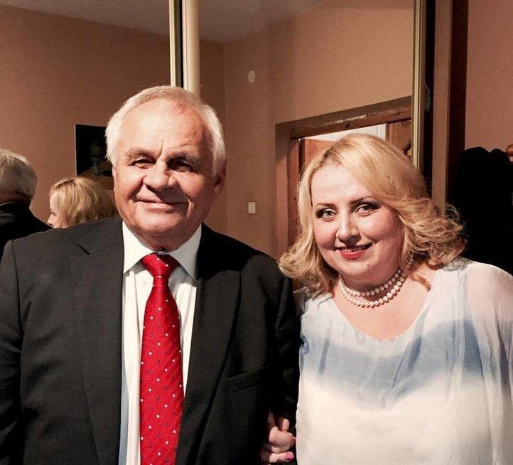 Svetlana Rybakienė už rūpestį dėkinga savo vyrui.