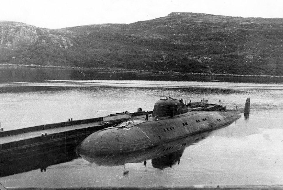 Projekto 671 sovietinis povandeninis laivas (nuotr. VK.com)