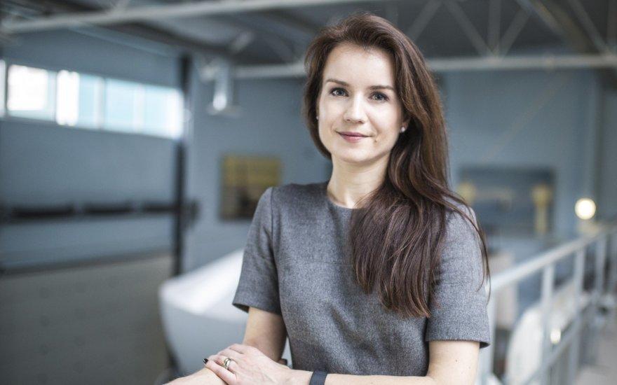 """Darbuotojų ugdymo ir kompetencijų centro """"Emblick"""" vadovė Agnė Novikienė (nuotr. asm. archyvo)"""