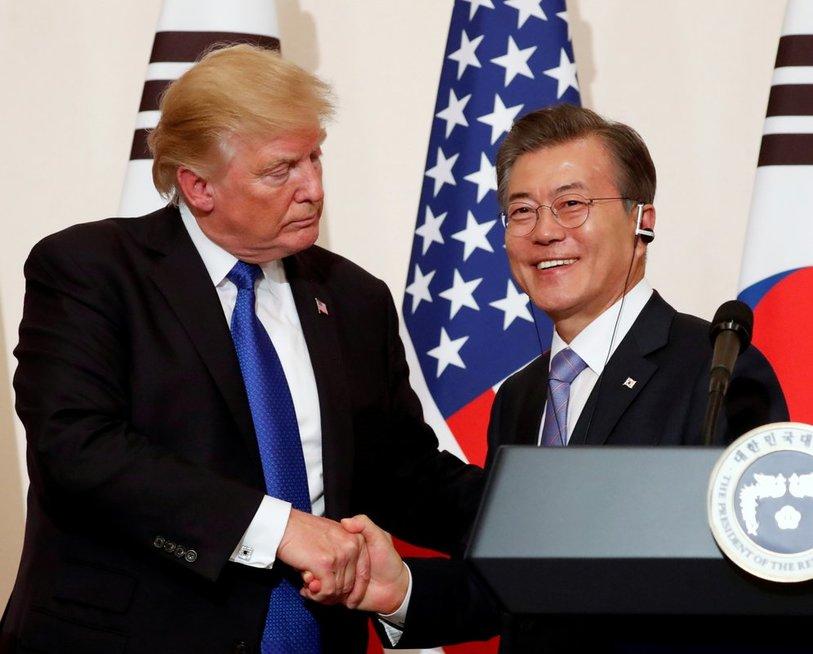 Skelbiamas susitikimas, po kurio gali paaiškėti Šiaurės Korėjos likimas (nuotr. SCANPIX)