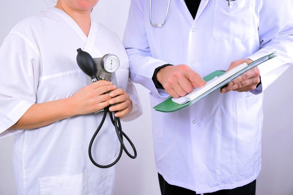 Gydytojai (nuotr. Fotolia.com)