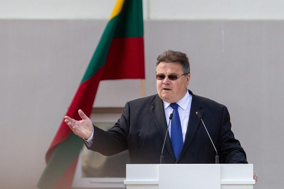 Užsienio reikalų ministras Linas Linkevičius (Paulius Peleckis/Fotobankas)