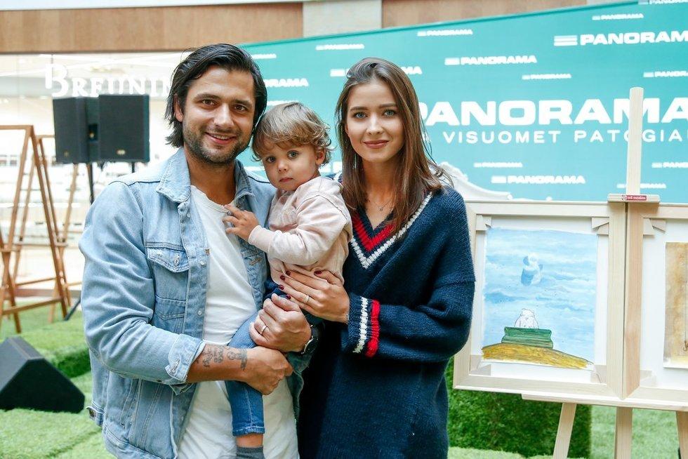 Ali Gadžijevas su šeima (nuotr. Eglė Mačiulskytė)